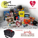 Gibson/Baldwin Night at the Net Celebrity Gift Bag