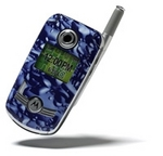 Cell phone with a SkinIt skin