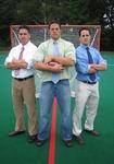 (From Left to Right) Shaun Hunte, Jonathan Corto, and Nicholas Corto. Photograph taken by Ryan Maloney.