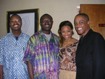 African Renewal Staff with Lakita and Jeff