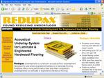 The homepage of redupax.com