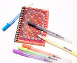 Souffle' pen decorated memo book