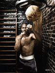 Roy Jones Jr. on High Roller Magazine
