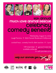 MUCH LOVE ANIMAL RESCUE COMEDY EVENT 2005