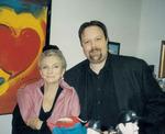 Zach Martin with Judy Collins
