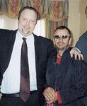Zach Martin with Ringo Starr