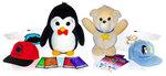 """Pookie and Tushka®"" plush toys"