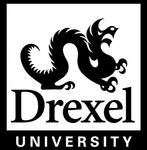 Drexel University Logo - B&W