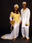 African wedding gown : Product ID DSC0423A