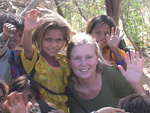 Volunteer in India Participant with Children