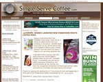 Single Serve Coffee.com Web Site