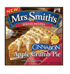 Packaging for Mrs. Smith's Cinnabon Apple Crumb Pie