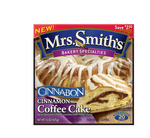 Packaging for Mrs. Smith's Cinnabon Coffee Cake