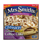 Packaging for Mrs. Smith's Cinnabon Pecan Coffee Cake