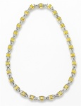 ANF Yellow Diamond Necklace