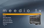 Meedio TV Main Menu