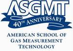 American School of Gas Measurement Technology 's new logo