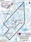 NE Athabasca Uranium Project - Mineralized Zones