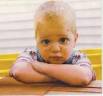 Luke Neuhedel at age 18 months.