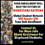 Education Aide for Hurricane Katrina Victims