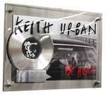 Keith Urban Million Seller Award