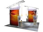 Lumenents Trade Show Display