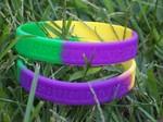 Rebuilding Hope-Mardi Gras Bracelet