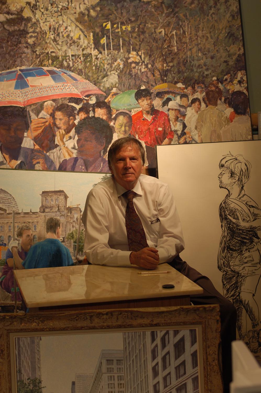 California Impressionist Artist Exhibits At Muckenthaler