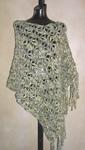 Free SweaterBabe.com Dramatic Crochet Lace Poncho Pattern