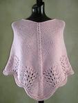 Free Pattern SweaterBabe.com Scalloped Knit Poncho