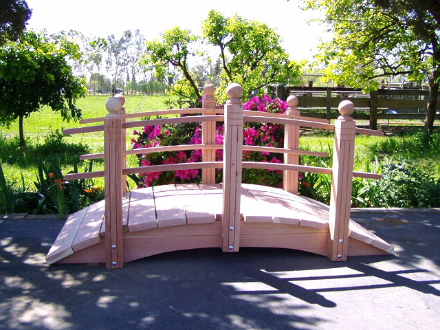 wonderful japanese wooden garden bridge - Japanese Wooden Garden Bridge