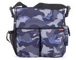 Skip Hop Duo Camo Canvas Diaper Bag