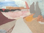 Picture the possibilities at Studio/Gallery 64 in October. Here, a road to wherever by artist Alexandra Corbin.