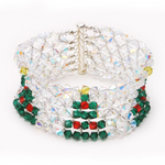 Crystal Christmas Collar/Bracelet
