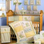 Lambs & Ivy Froggy Tales - Baby Bedding