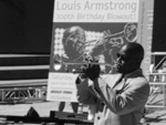 "James Andrews, a major figure in the New Orleans brass band scene, is known as ""Satchmo of the Ghetto."" Andrews will join Henry Butler at the Mt. Washington Valley Jazz Fest to Benefit Gulf Coast Disaster Relief on September 29 in North Conway, NH."