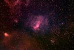 The Bubble Nebula and surrounding area