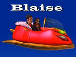 Blaise, the talking Anti-Gravity Sleigh