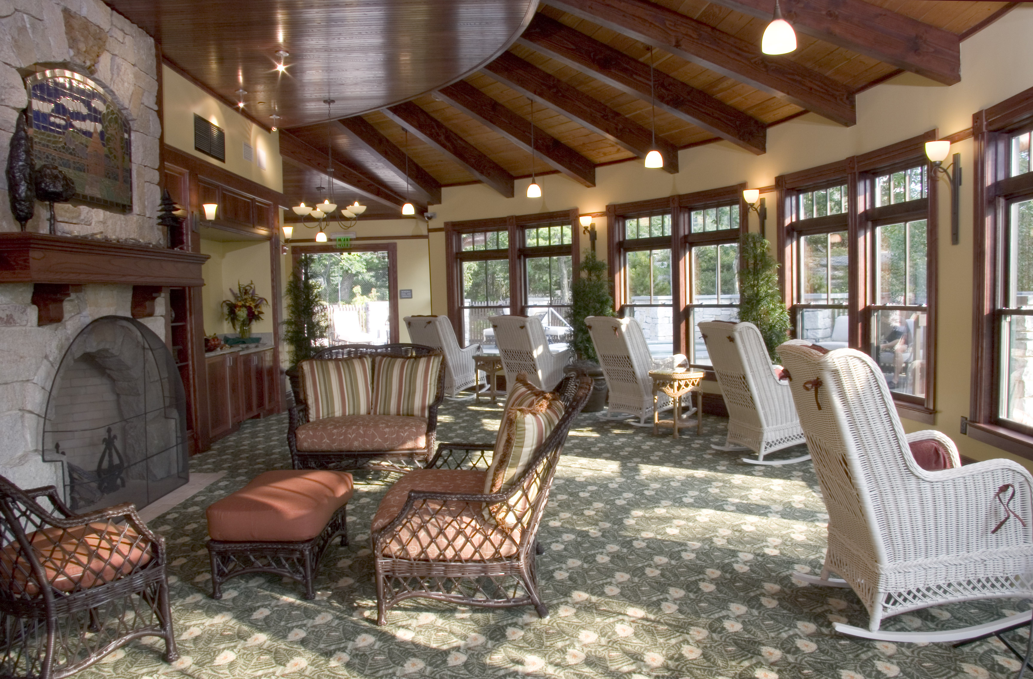 The grand opening of the spa at mohonk mountain house new for Solarium home