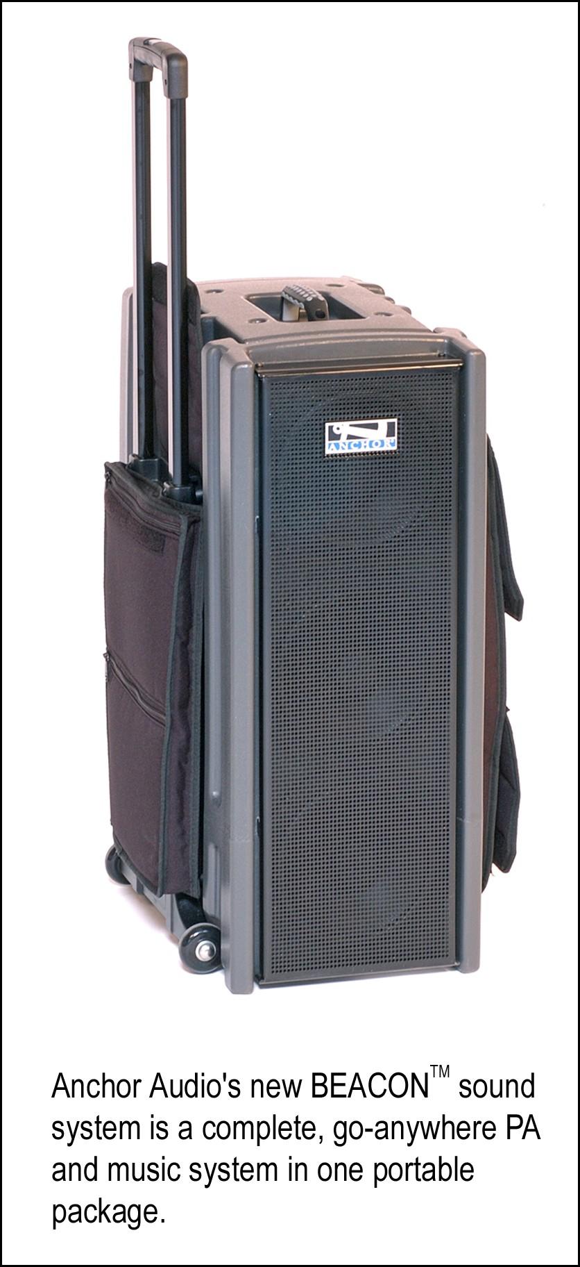 Anchor Audio S New Beacon Tm Portable Pa System A