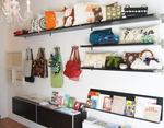 Pillows, bags and journals at Rare Device