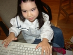 Adora typing