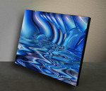 """Imbued"" Original Oil Painting by McKenzie from the Sold-out Liquid Series"