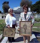 Debbie Peevyhouse and Ovila Cayer Estate Descendant