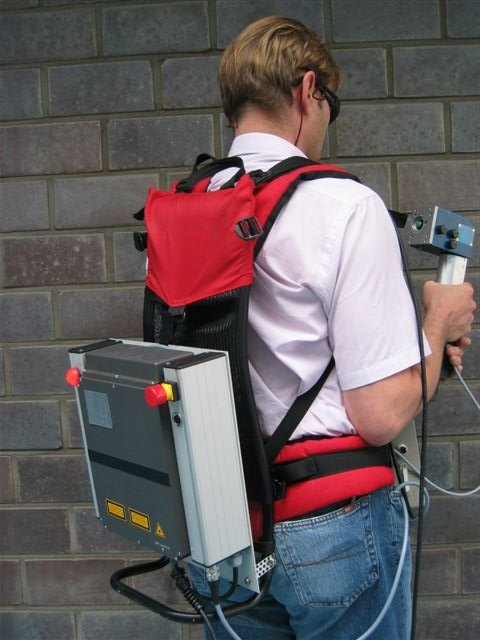 Ciprocess Launches World S First Backpack Laser Cleaning
