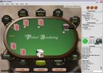 At the table with Poker Academy software