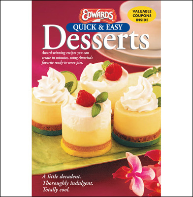 Easy holiday dessert ideas in free edwards recipe booklet forumfinder Image collections