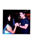 China girl meets the Super Star. ( Niki Yan visits Tom Cruise on the set of M:I:3, Oct 13, 2005)