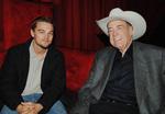 Leonardo DiCaprio and Doyle Brunson
