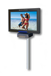 BroadcastVision Personal Exercise Entertainment Screen